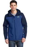 Port Authority Hooded Core Soft Shell Jacket.